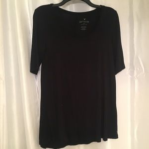 Soft and Sexy American Eagle Outfitters Black Top